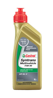 Castrol Syntrans Multivehicle 75W-90, 1 ltr
